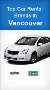 Top Car Rental Brands in Vancouver